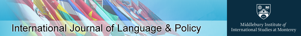 International Journal of Language & Policy